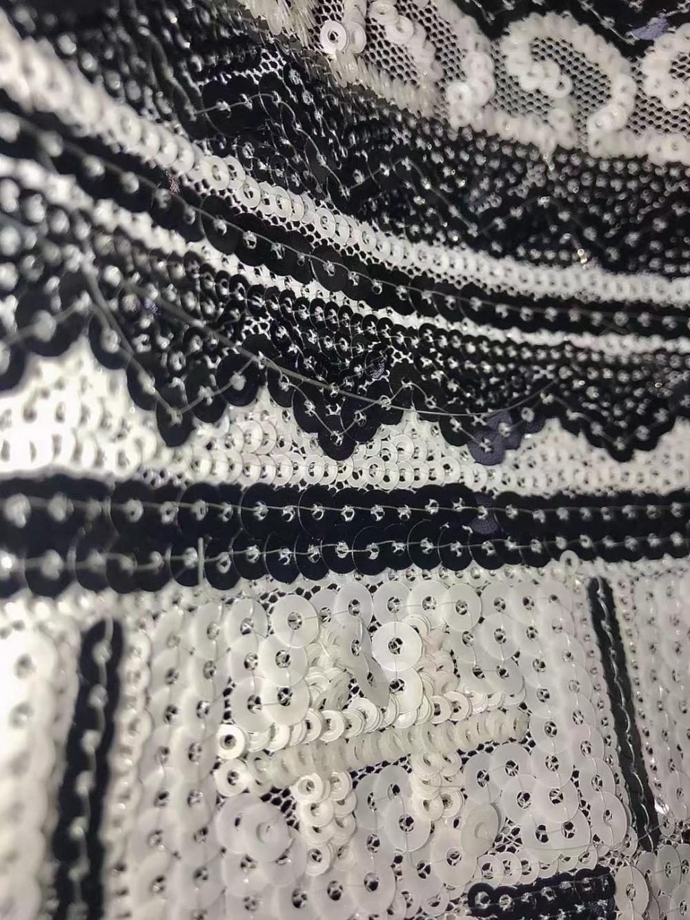 Beautiful Full White Fabric