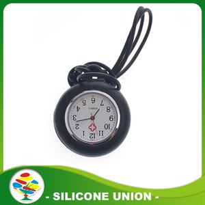 Waterproof Silicone Nurse Watch Clip Watches for Doctor