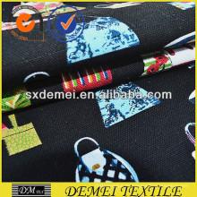 textil china de tela de algodón de la impresión tropical