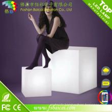 Modern LED Light up Cube Table Bcr-117c