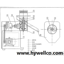 Extruding Granulating Machinery from Hywell