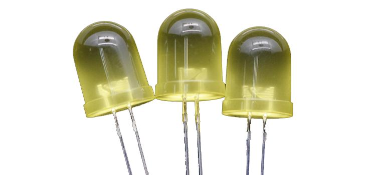 10mm yellow led