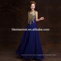 2016 Suzhou Lieferant Ballkleid lange goldene Nacht sexy Abendkleid