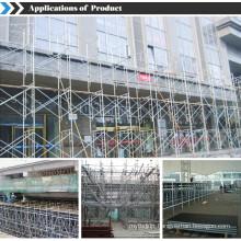 5'x6'6'' walk-thru frame scaffolding for building construction USA and Canada