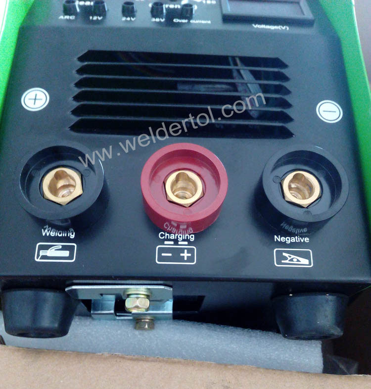 welder and battery charger and car starter