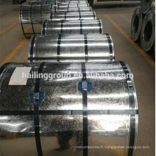 bobine en acier galvanisé, tailles de feuille de fer galvanisé prix