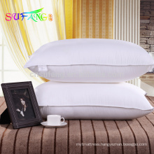 Hotel pillow/Hotel polyester fiber pillow for star hotel pillow
