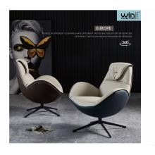 Italy Modern High Back Design Velvet Sofa Chair