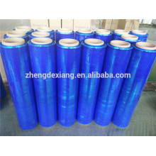 blue stretch film for pallet packing