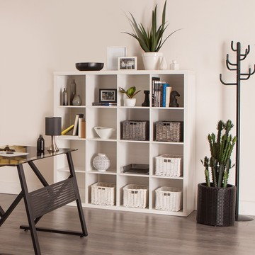 Wood Storage Use Book Shelf