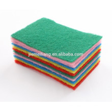 Household Item Scouring Pad Material Nylon Scouring pad Heavy duty cleaning scouring pad