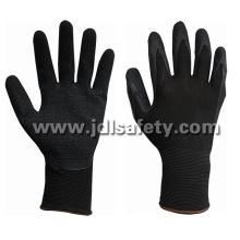 Нейлон работы перчатки латексные покрытия для безопасности труда (LY3015)