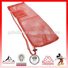 bolsa de malla de yoga con bolsillo y correa HCY0015