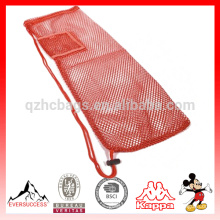 yoga mat mesh bag with Pocket and Strap HCY0015