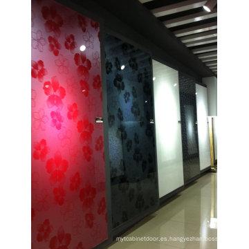 Hoja de acrílico brillante de la puerta del gabinete (tamaño estándar)