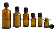 Amber Essential Oil Dropper Glass Bottle (10ml, 15ml, 30ml)