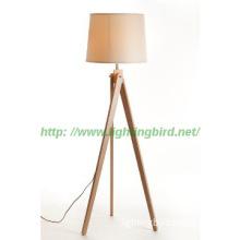Fine quality wood floor lamp manufacturer
