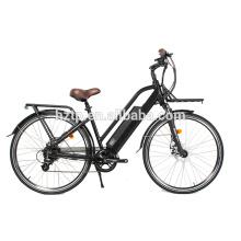 Nuevos productos de larga distancia 700C bicicleta eléctrica de la ciudad para la venta