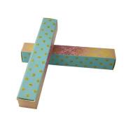 Custom flatting packing luxury lipstick gift box