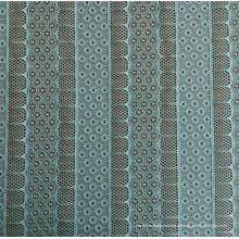 Tissu en dentelle jacquard en polyester et spandex