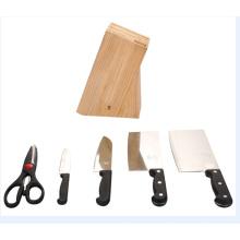 Outil de cuisine Vaisselle Ensemble de couteaux en acier inoxydable