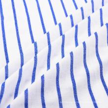 Элегантная пряжа окрашенная трикотажная ткань для одежды