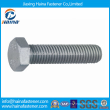 DIN933 geomet coated hex heavy bolt geomet finished bolt