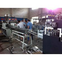 Une ligne de production de bandes de chants en PVC Four Streams