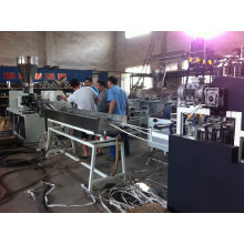 Um para quatro linhas de produção de borda de PVC de quatro fluxos