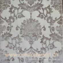 Tissu jacquard rideau pour maison avec polyester