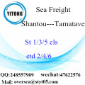 Shantou Port LCL Consolidation To Tamatave
