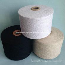 Polyester Ring Spun Yarn for Knitting and Weaving