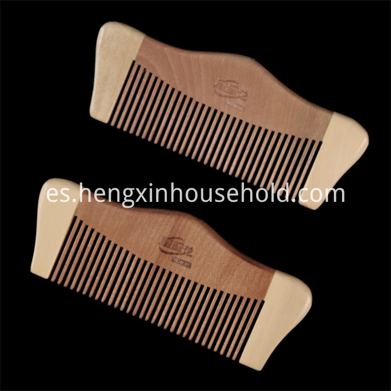 Princess Seamless Wooden Comb