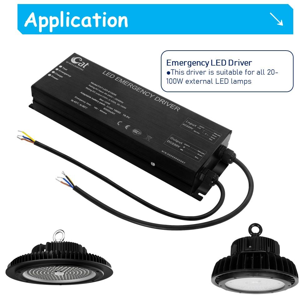 emergency kit for led lamp