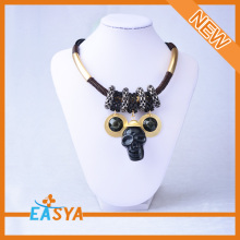 New Arrival Necklace With Skull Pendant Black Color Necklace Skull Pendant Necklace