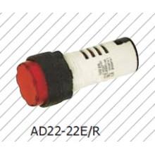 Pilot Lamp Red 22mm Lámpara de señal Iindicator Lamp Bule Yellow White Green