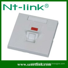 86 type one port rj45 faceplate