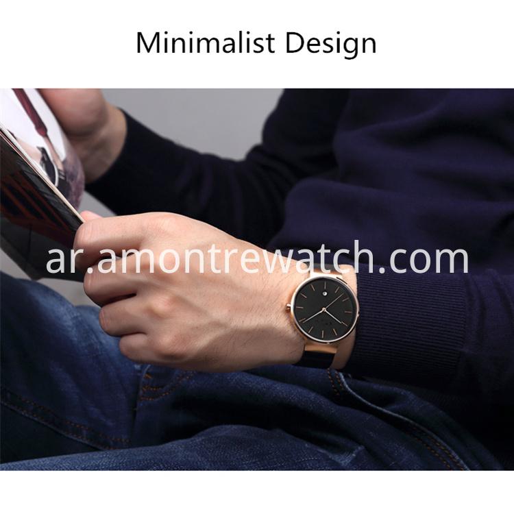 868f15372a70c الصين شبكة الفولاذ المقاوم للصدأ كوارتز ساعة اليد للرجال المصنعين