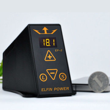 2013 New Arrival ELFIN POWER SUPPLY LCD For Tattoo Power Supply EP-2