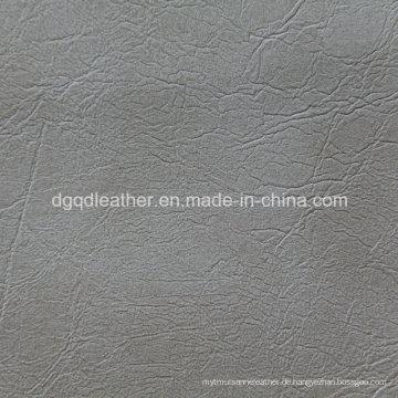 Mode unregelmäßiges Design für Sofa Leder (QDL-53222)