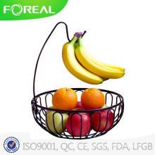 Metal Wire Bronze Coating Fruit Basket
