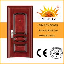 Холоднокатаной Стали Безопасности Двери