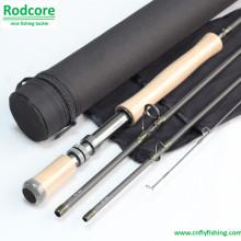 Primario Pr908-4 de alto carbono de acción rápida mosca Rod