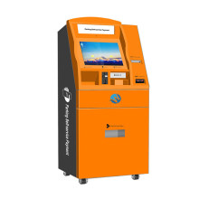 Kiosk Machine with RFID Card Reader, Bill Acceptor Touch Screen Kiosk Machine with Ticket Printer