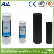 Núcleo de carbono activado con cáscara de coco con yodo de 1050 mg / g