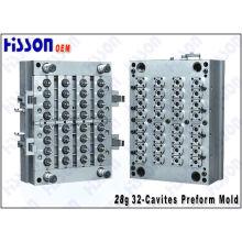 Molde de inyección de preformas de cavidad 32 28g Pco PET