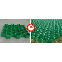 Patin à herbe à grille en plastique