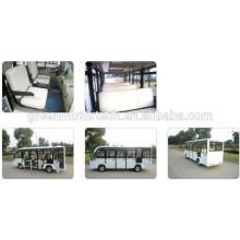 Umwelt 14 Sitzer elektrische Touristenbus Sightseeing Cart Golf Carts mit Sporttourismus und Hotelbenutzung
