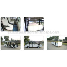 окружающей среды 14 местный электрический туристический автобус достопримечательности гольф-кары тележки с спортивного туризма и гостиничного использования