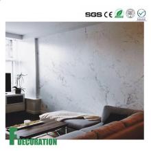 Heißer Verkauf PVC Marmor Blatt Marmor Kunststoff Blatt Faux Marmor Blatt